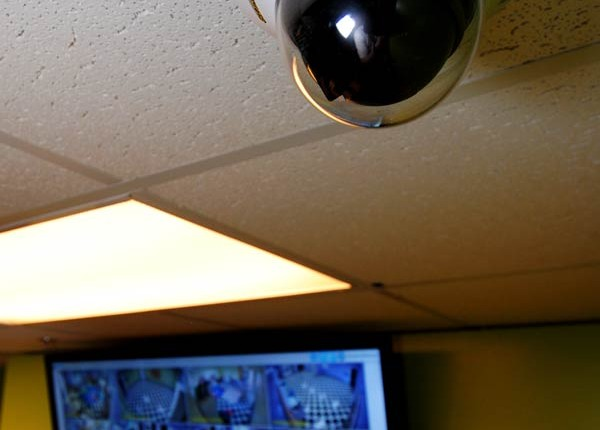 Monitor Ceiling Camera - Herring Technology, Nashville