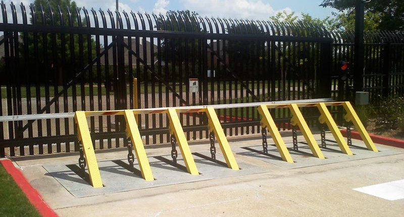 Perimeter Car Gate Barrier - Herring Technology, Nashville